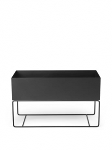 Regał Ferm LIVING Plant Box LARGE - czarny