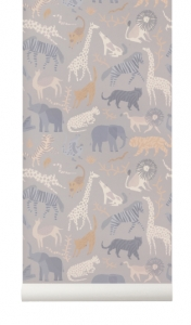 Tapeta Ferm LIVING Safari 197 + klej gratis